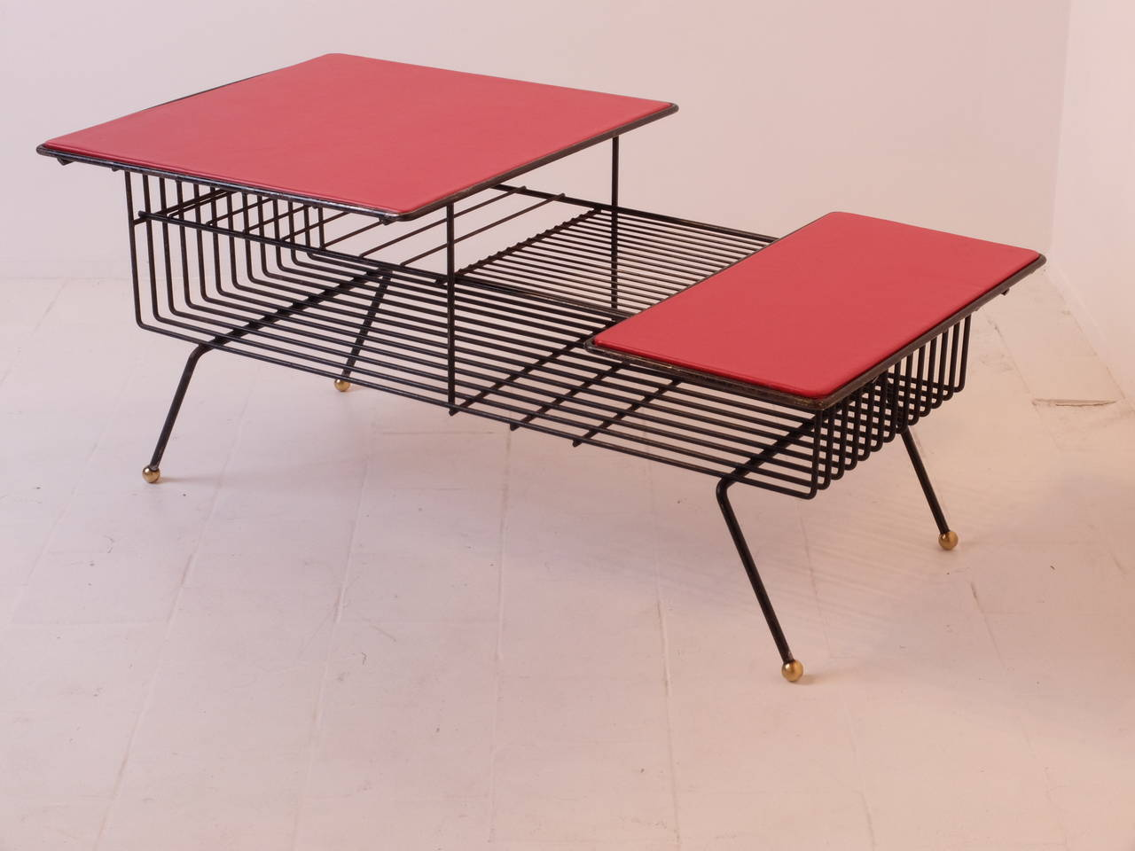 Coffee Table By Meuble Tv In The Style Of Adnet At 1stdibs # Meuble Tv Carlo