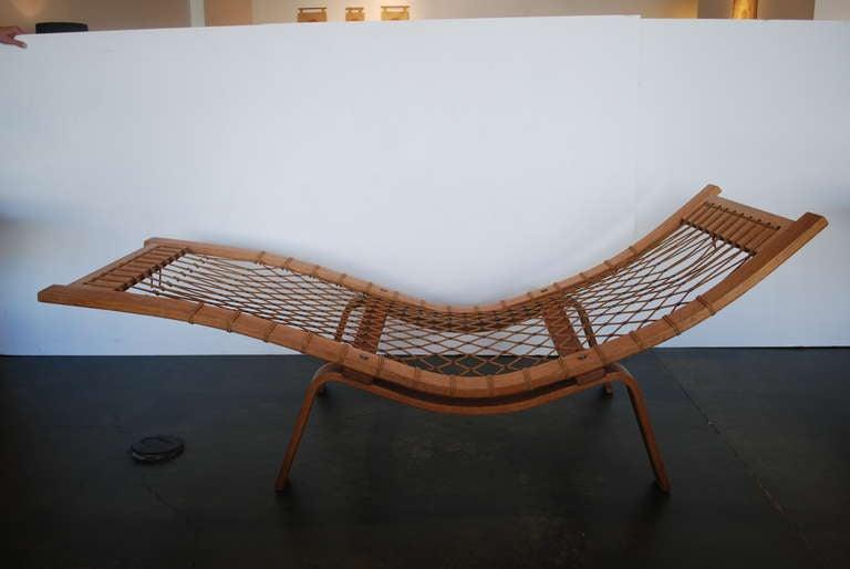 hans wegner chaise lounge at 1stdibs. Black Bedroom Furniture Sets. Home Design Ideas