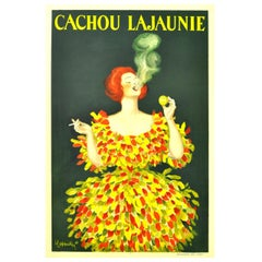 Cachou Lajaunie, Original Vintage 1920 Advertising Poster by Leonetto Cappiello