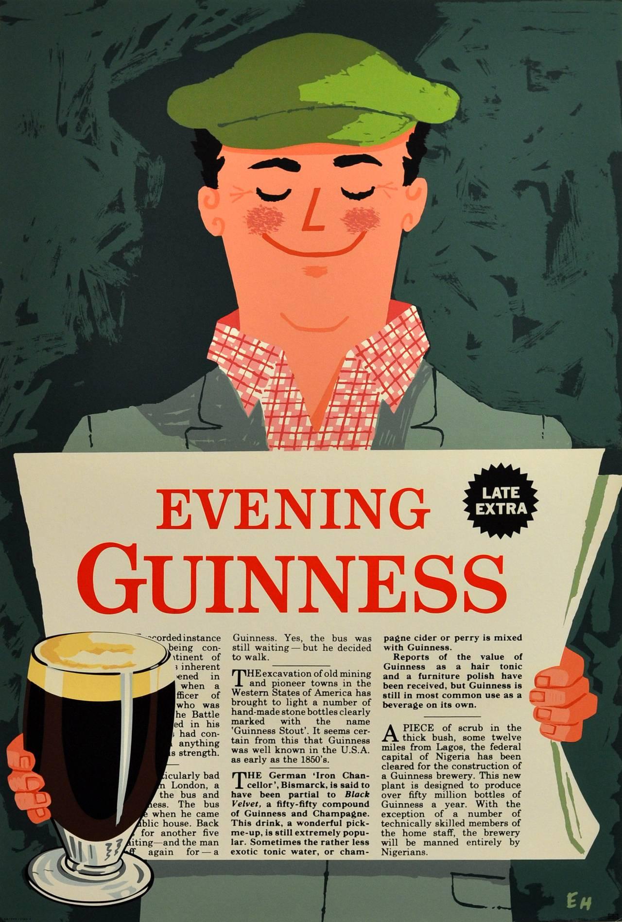 Guinness Vintage Poster 106