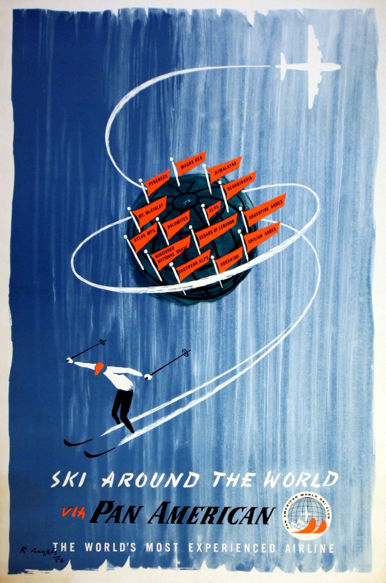 Risultati immagini per panamerican poster