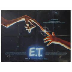 "Original Vintage Cinema Poster by John Alvin for the Steven Spielberg Film, ""ET"""