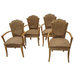 Four Art Deco Armchair