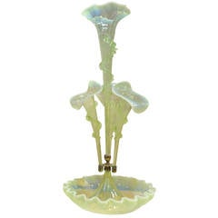 Outstanding Art Nouveau 19th Century Epergne on Plateau