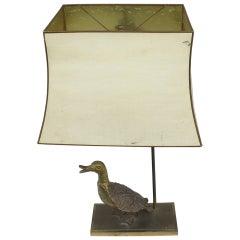 Duck Bronze Lamp