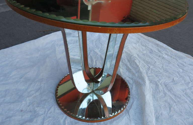Mid-20th Century 1950/70 Art Deco Pedestal Mirror For Sale