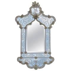 1950 Romantic Mirror Murano, Invitation
