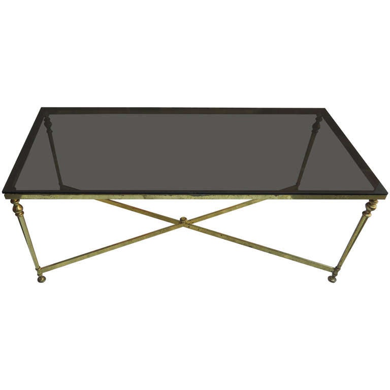 Gilt Metal Coffee Table