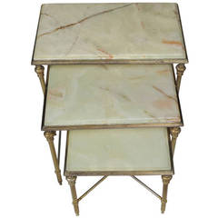 Maison Bagues Nesting Tables with Onix