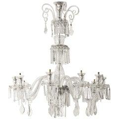 1900' Bohemian Crystal Chandelier