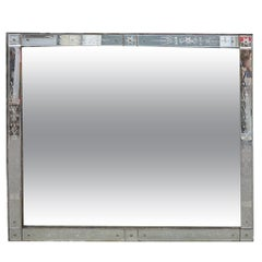 Venice Rectangular Mirror Decorated with Flowers 171 X 151 cm