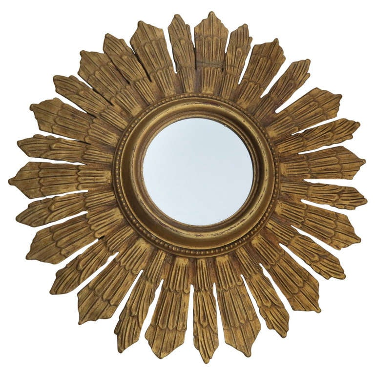 Giltwood Sunbursts Mirrors