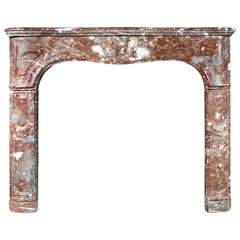 18th Century French Antique Marble Fire Surround