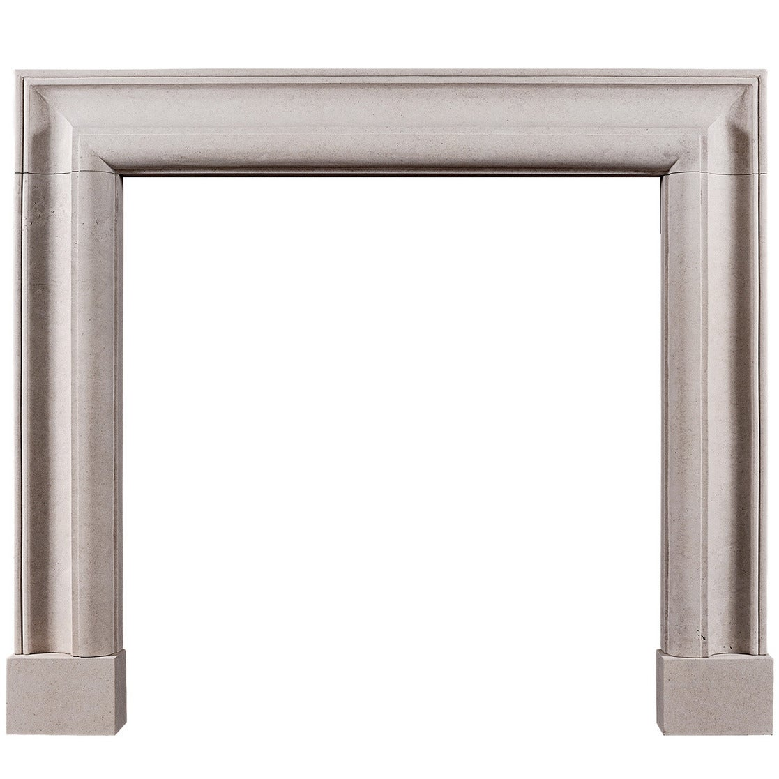 english bolection fireplace mantel in portland limestone for sale