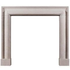English Bolection Fireplace Mantel in Portland Limestone