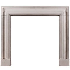 English Bolection Fireplace Mantel in Portland Limestone