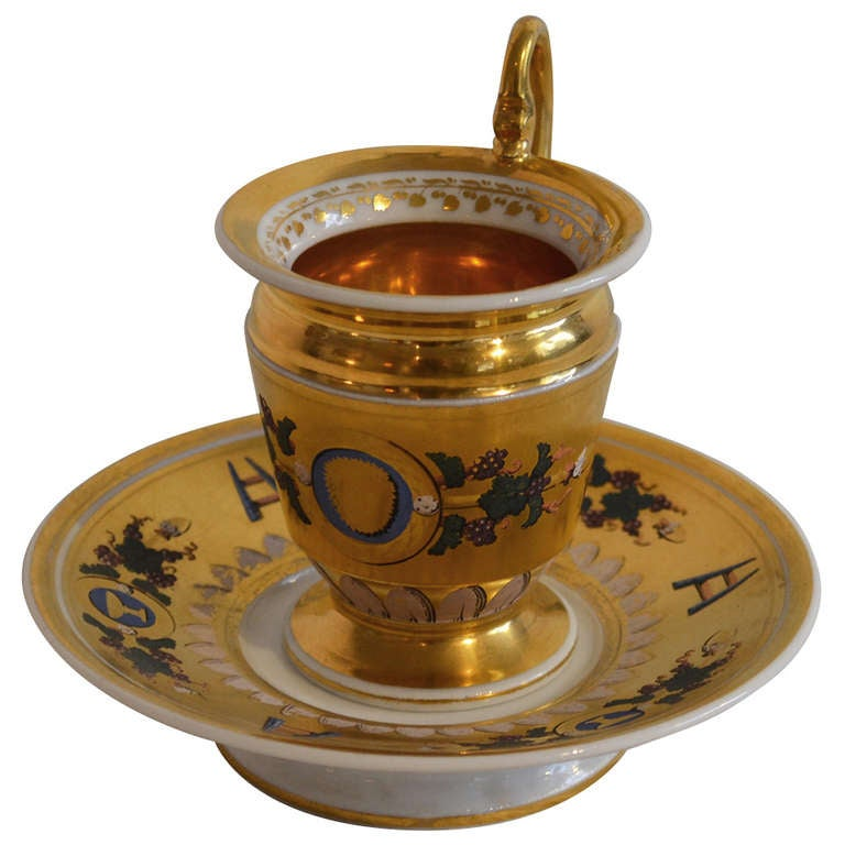 French 18th Century Gilded Cup
