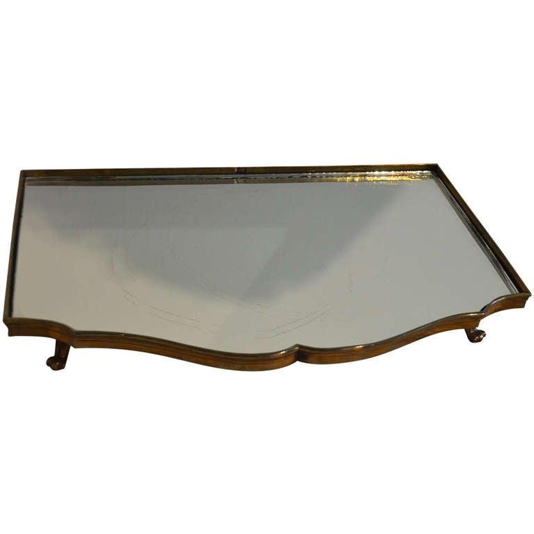 18th Century Plateau Mirror