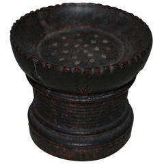 Early 18th Century Wooden Folk Art Ink Sander