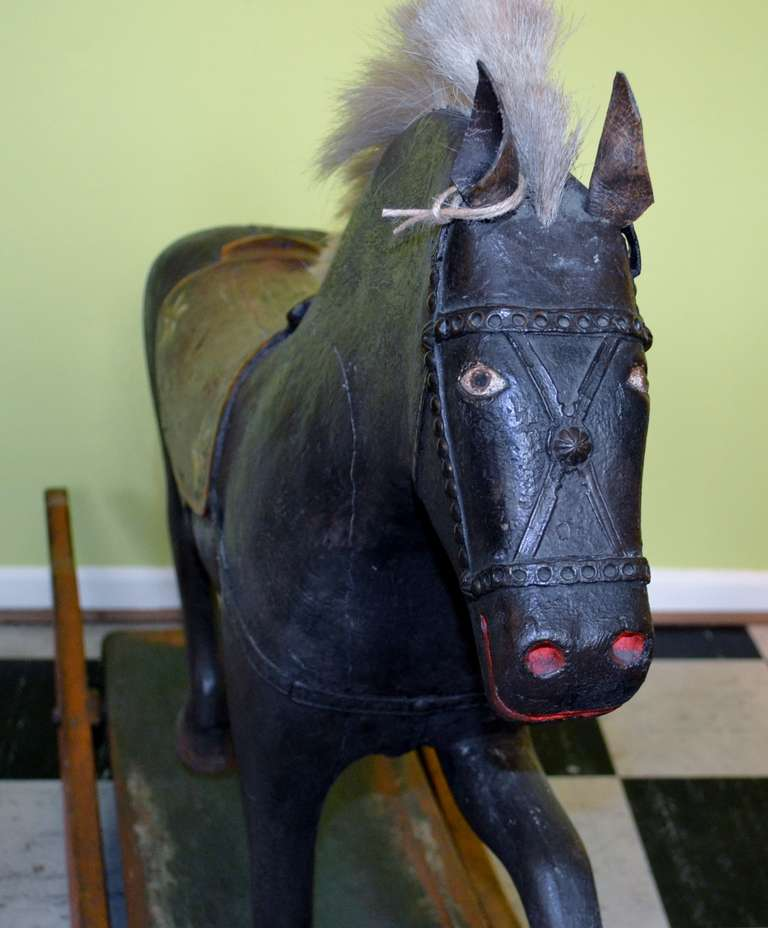 19th Century Rocking Horse at 1stdibs