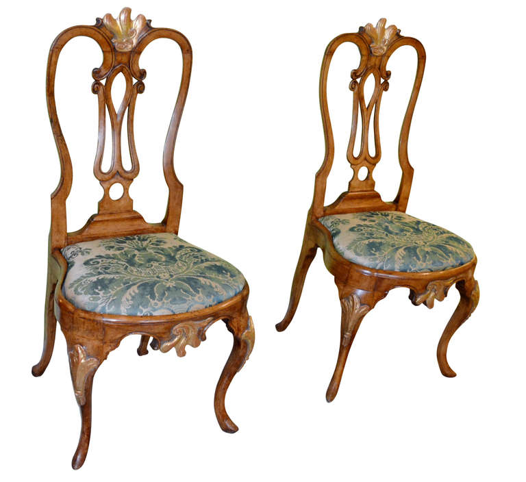 18th Century Rococo Chairs At 1stdibs