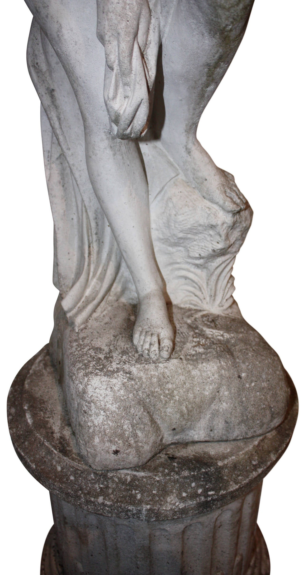 Cast Stone Statue Of Aphrodite At 1stdibs