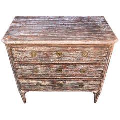 18th Century Gustavian Piebald Coloured Dresser