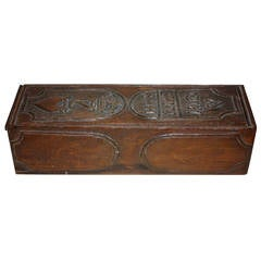 18th Century Pencil Box with King Christian VII Monogramme