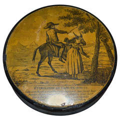 18th Century Snuff Box With Secret Erotic Motive