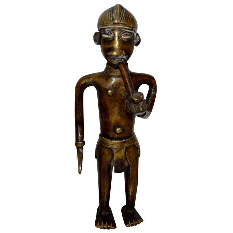 19th Century African Bronze Sculpture From Vienna Tobacco Museum