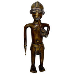 19th Century African Bronze Sculpture From Vienna Tobacco Museum