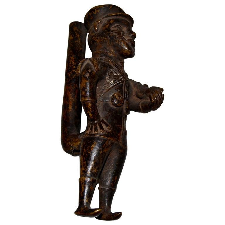 19th Century Bronze Pipe For Sale