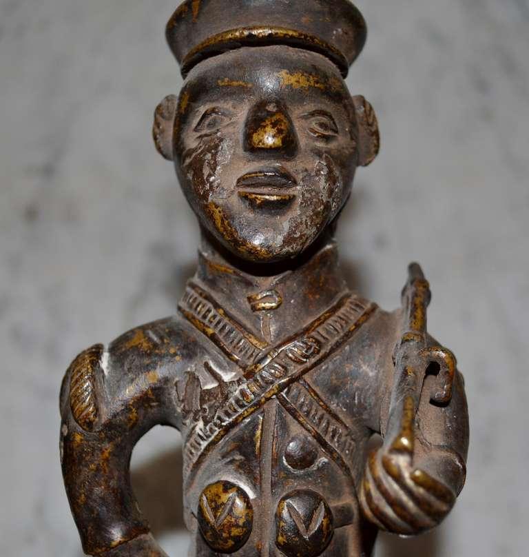 19th Century Bronze Pipe For Sale 3