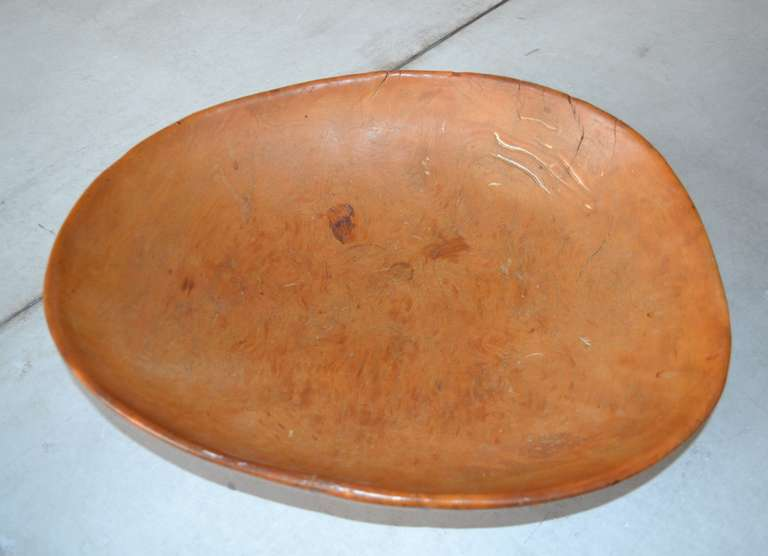 Folk Art 18th Century Wooden Dairy Bowls For Sale