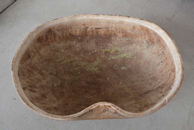 18th Century and Earlier 18th Century Wooden Dairy Bowls For Sale