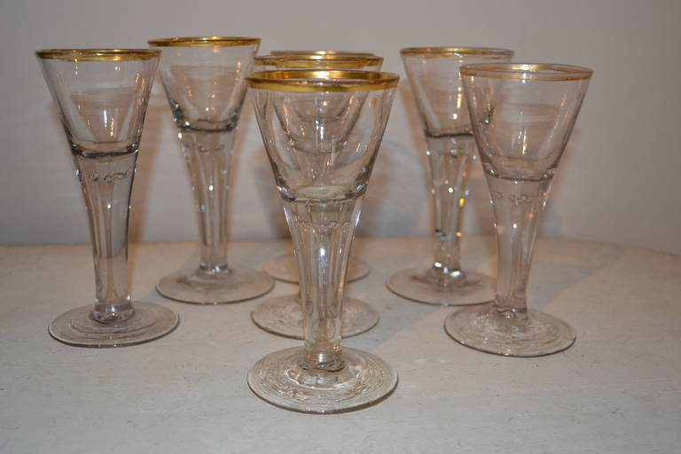 18th Century Baroque Glasses For Sale 5