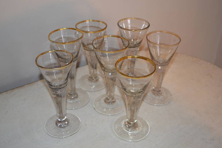 18th Century Baroque Glasses In Excellent Condition For Sale In Copenhagen, K