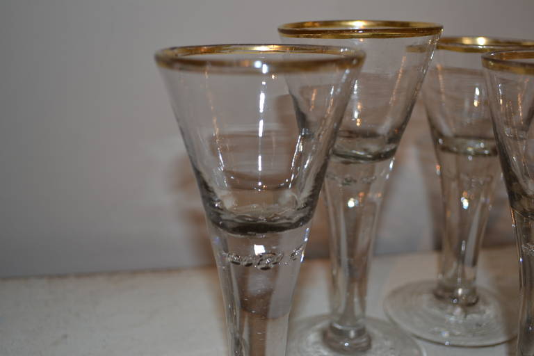 Mid-18th Century 18th Century Baroque Glasses For Sale