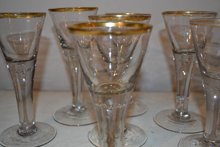 18th Century Baroque Glasses For Sale 1