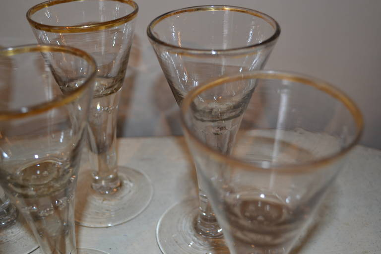 18th Century Baroque Glasses For Sale 4