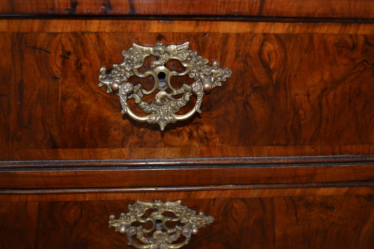 Bronze 18th Century Altona Chest Of Drawer, Germany And Denmark For Sale