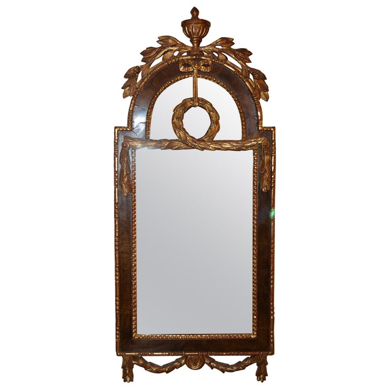 18th Century Louis XVI Altona Mirror For Sale