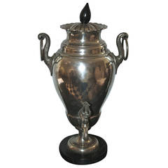 Early 19th Century Pewter Samovar