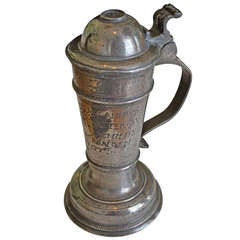 18th Century Pewter Pitcher