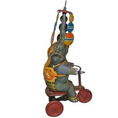 Vintage Bicycling Circus Elephant, Lehmann