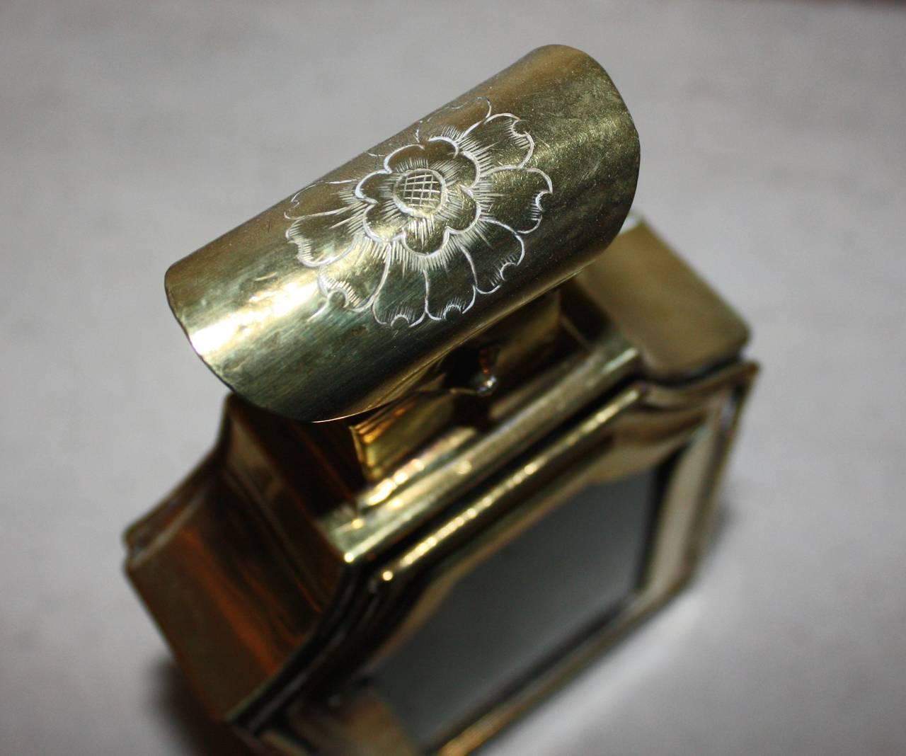 18th Century Rococo Brass Lantern For Sale 2