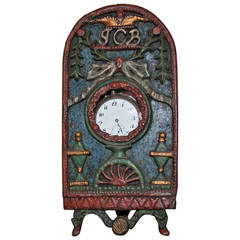 18th Century Folk Art Watch Holder