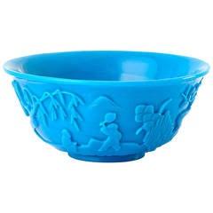Very Nice Chinese Glass Bowl