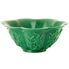 Wonderful Chinese Glass Bowl