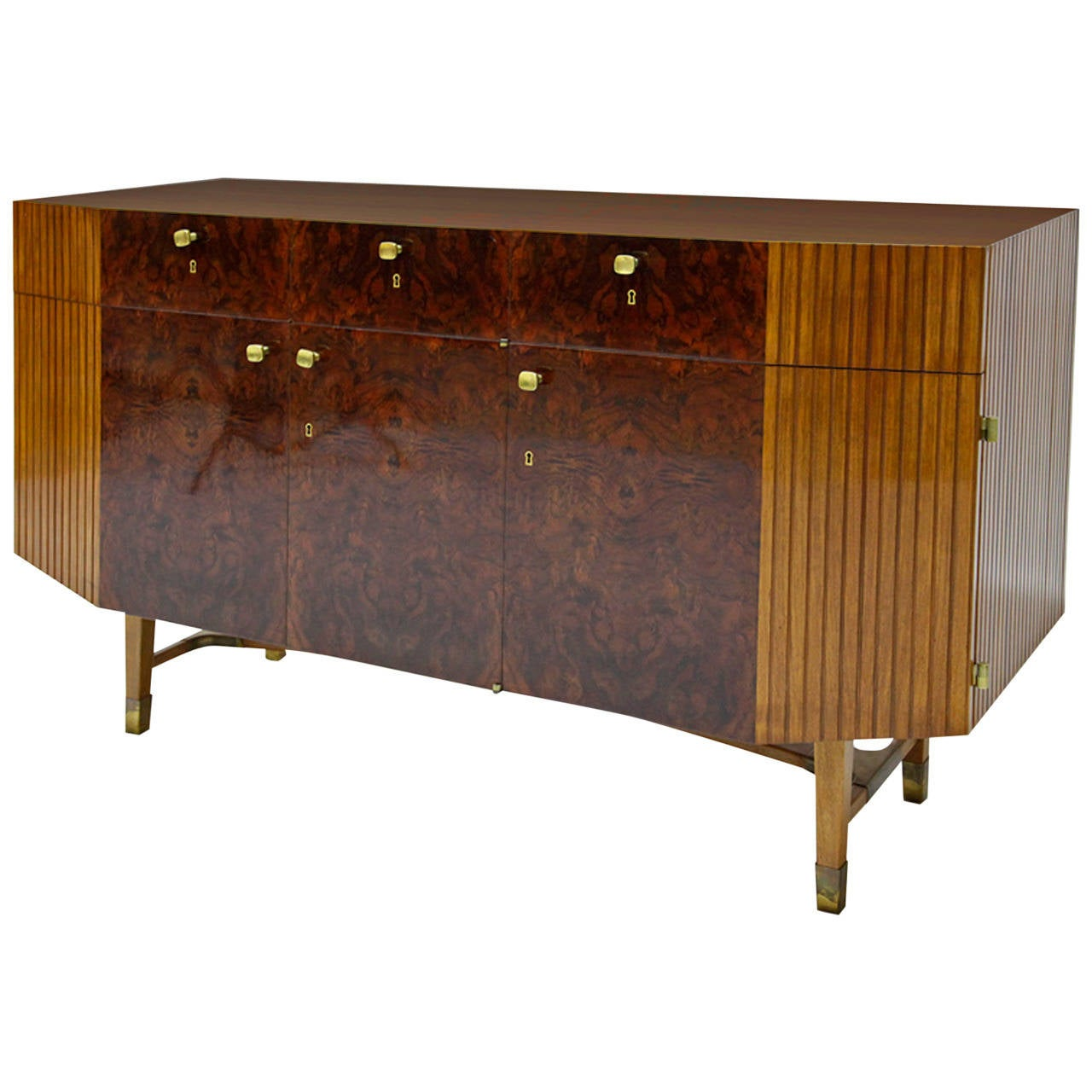 Wonderful sideboard circa 1940s 1950s for sale at 1stdibs for Sideboard 2 50 m